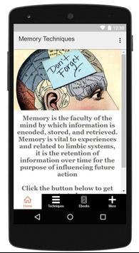 Memory Techniques screenshot 3