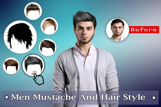 Man Mustache Hair Style : Stylish Man Photo Editor screenshot 2