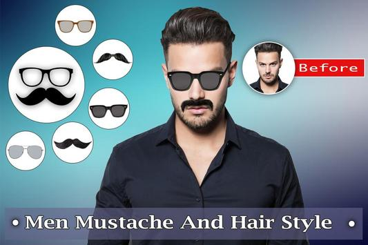 Man Mustache Hair Style : Stylish Man Photo Editor screenshot 5