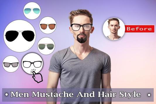 Man Mustache Hair Style : Stylish Man Photo Editor screenshot 6