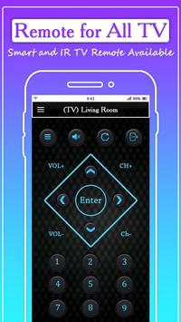 Remote for All TV: Universal Remote Control screenshot 1