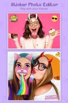 Face Filter, Sticker, Selfie Editor : Photo Editor screenshot 2