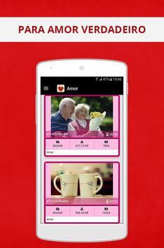Mensagem de amor para namorados screenshot 11