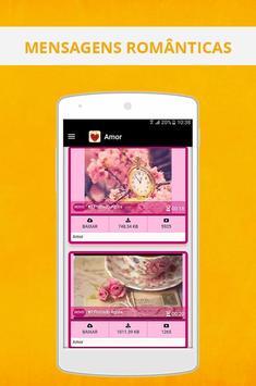 Mensagem de amor para namorados screenshot 1