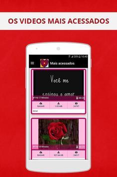 Mensagem de amor para namorados screenshot 23