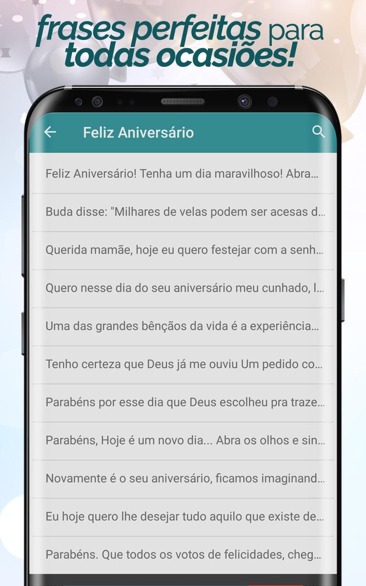 Frases De Aniversário For Android Apk Download