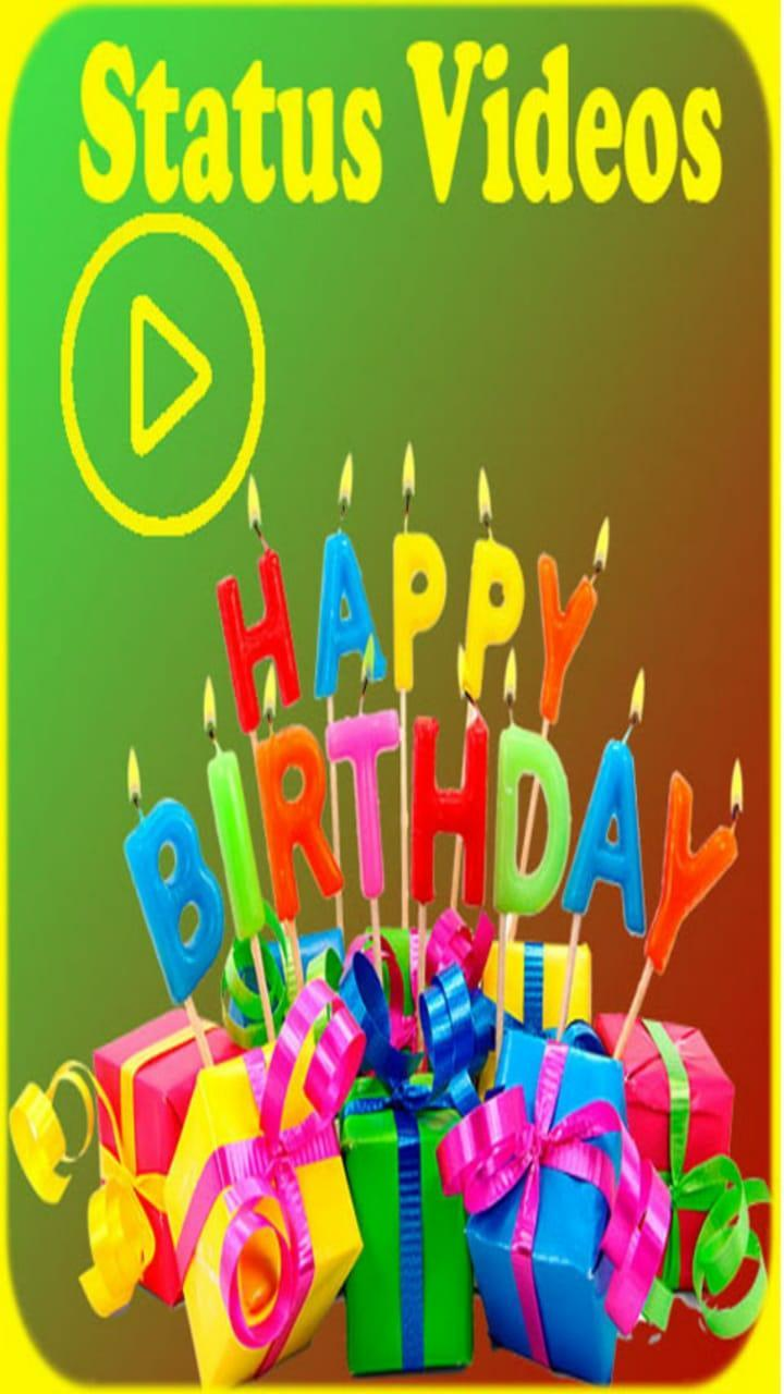 Happy Birthday To You Song Status Video App Hindi for