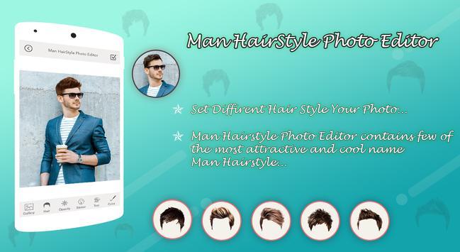 Man HairStyle Photo Editor screenshot 2