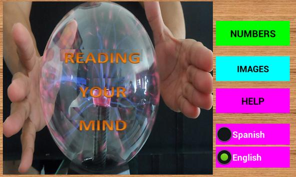 READING YOUR MIND poster