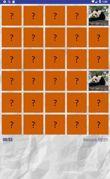 Panda - Memory Game apk screenshot