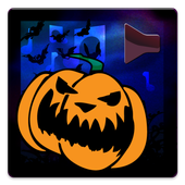 Sounds for halloween icon