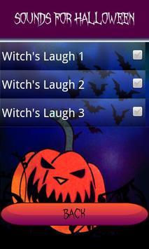 Sounds for halloween screenshot 1