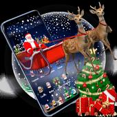 3D Merry Christmas Santa Theme icon