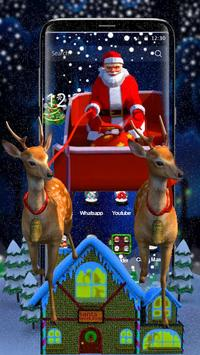 3D Merry Christmas Santa screenshot 1