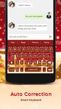 Merry Christmas Keyboard apk screenshot