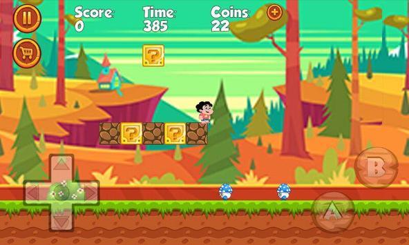 Steven Run Adventure apk screenshot