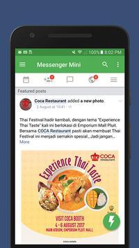 Lite Messenger - Quicker & Faster screenshot 5