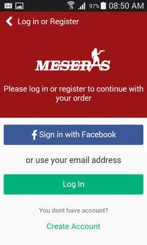 Meseras Mexican Restaurants apk screenshot