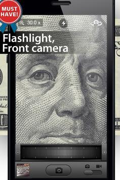 Magnifier 30x Zoom apk screenshot