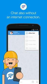 Klap Messenger - Free SMS apk screenshot