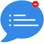 Free Messages, Video, Chat,Text for Messenger Plus icon