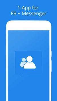 Free Messages, Video, Chat,Text for Messenger Plus poster