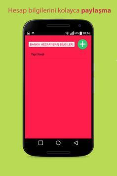 Parola Şifre Saklayıcı screenshot 4
