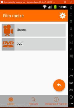 Film Metre apk screenshot