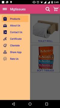 tissues & paper Napkin & towel poster