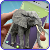 Elephant On Screen icon