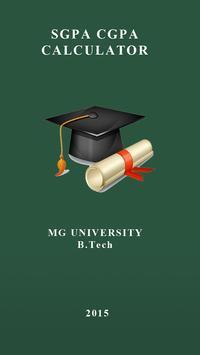 MGU SGPA CGPA poster