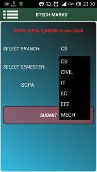 MGU SGPA CGPA apk screenshot