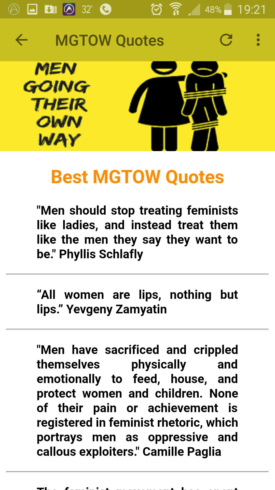 Why You Should Go Mgtow