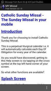 MY Sunday Missal screenshot 5