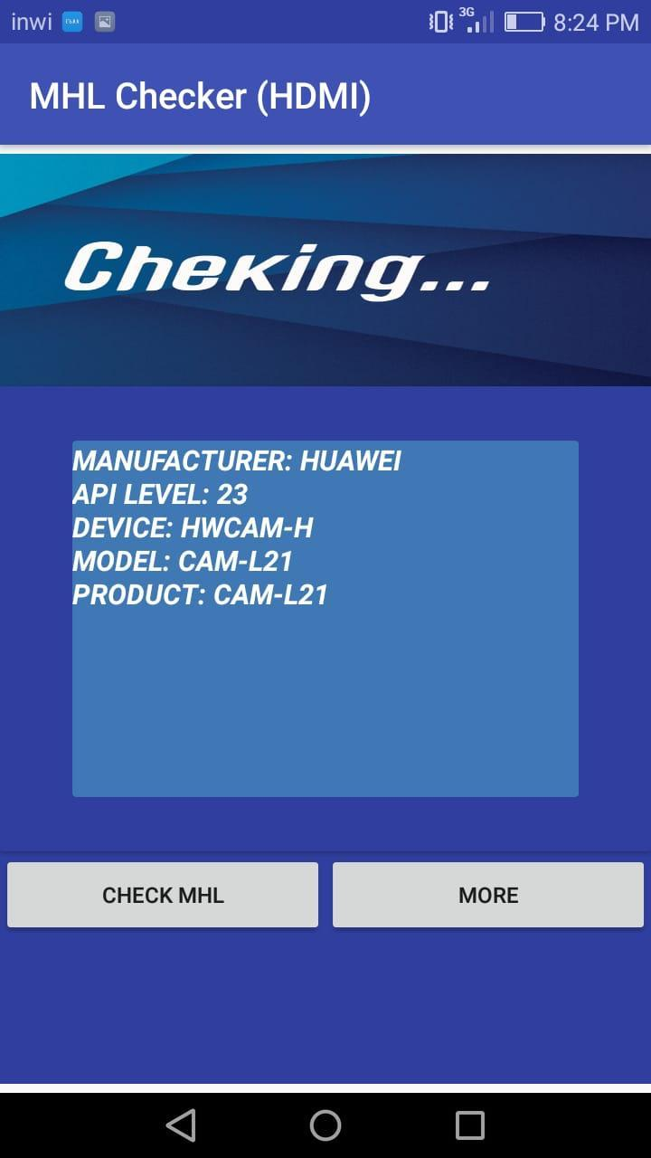 MHL Checker ( hdmi / otg / usb ) for Android - APK Download