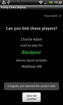 Footy Links apk screenshot