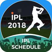 IPL 2018 Schedule icon
