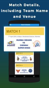 IPL 2018 Schedule screenshot 1
