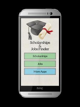 Global Scholarships & Jobs Finder screenshot 1