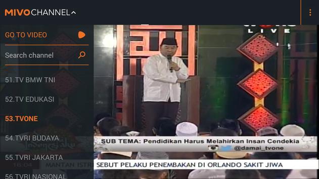 Mivo - Nonton TV & Artis apk screenshot