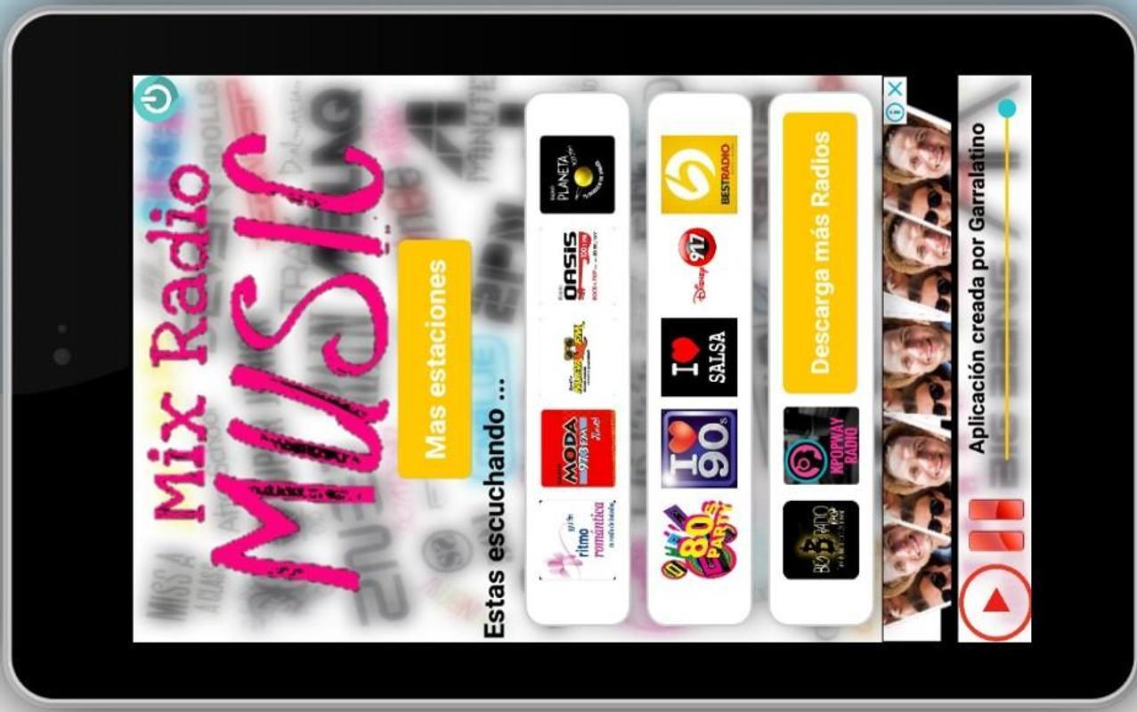 mix radio apk