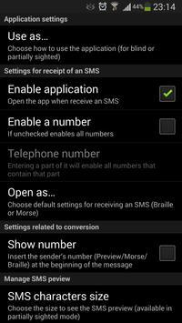 Blind SMS Reader screenshot 4