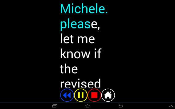 Blind SMS Reader screenshot 8