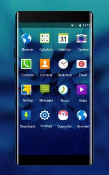 Cool Blue Theme for Micromax Canvas Infinity screenshot 1
