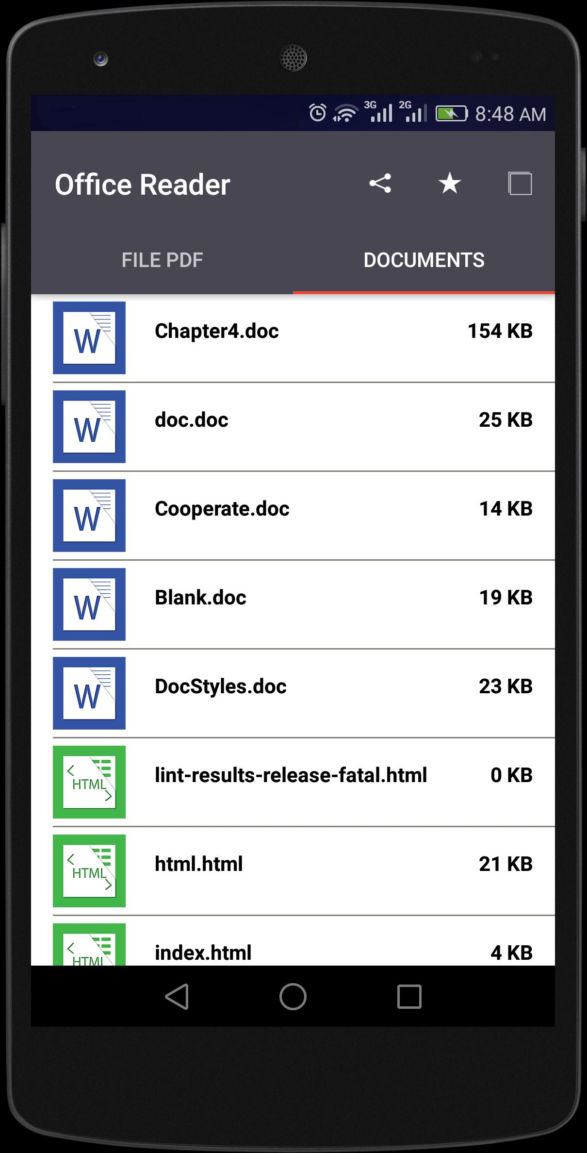 Reader for Microsoft Word for Android - APK Download