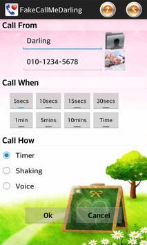 Fake Call Me Darling poster