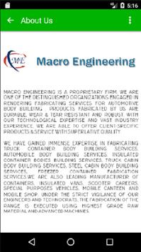 Macro Engineering Works poster