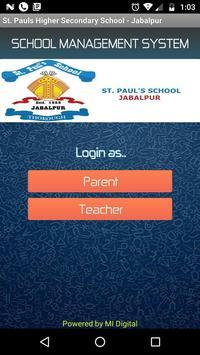 St. Paul's Higher Secondary School (Jabalpur) poster