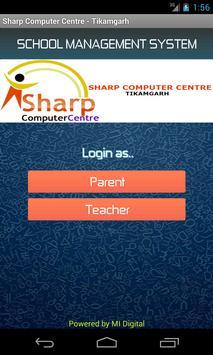 Sharp Computer Centre (Tikamgarh) poster