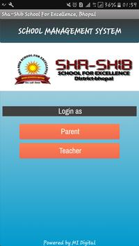 Sha Shib School For Excellence poster